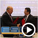 En vidéos : Signature de la convention entre l'ESCT et l'Observatoire du Tourisme