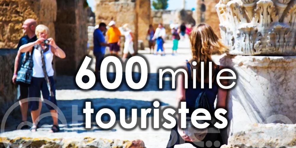La Tunisie a accueilli 600 mille touristes depuis le 27 juin 2020