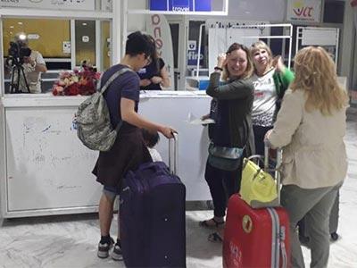 150 touristes kazakhs et Ouzbeks accueillis à l'aéroport Habib Bourguiba de Monastir