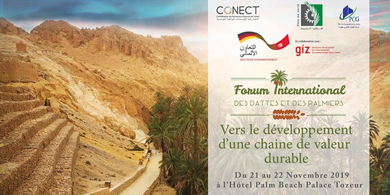 Tozeur: Tenue du Forum International des Dattes et des Palmiers