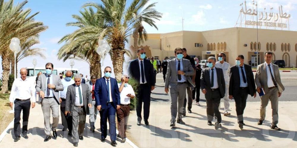 مطار توزر نفطة الدولي  يستعد استثنائيا لاستقبال رحلات شركة الخطوط التونسية السريعة
