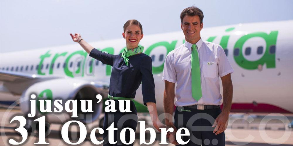 Transavia: Report sans frais des vols jusqu'au 31 octobre