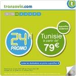 Promo 24h : Monastir et Djerba à partir de 79€ avec Transavia