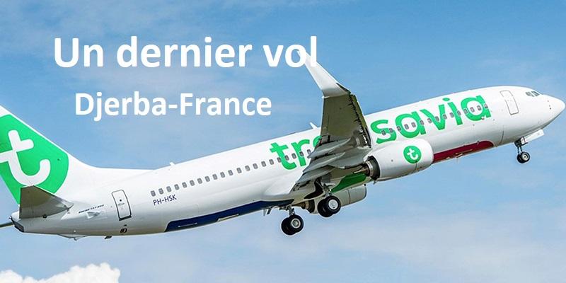 Transavia: un dernier vol Djerba-France