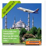 Un séjour de 04J à Istanbul pour 300 DT TTC chez Traveltodo