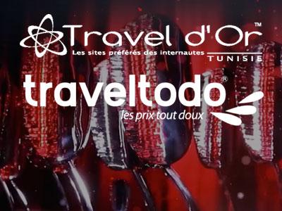 Traveltodo organise la deuxième édition des 'Travel d'or'