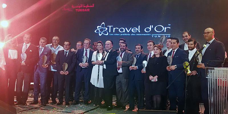 Les 12 pépites d'or des Traveldor Tunisie 2018