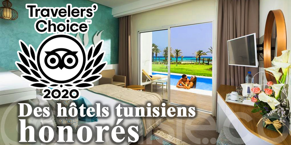 Travelers' Choice 2020: Top des hôtels tunisiens honorés