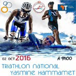Triathlon National le 2 Octobre à Yasmine Hammamet