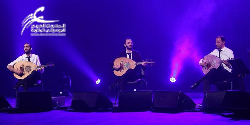 En photos: Trio Joubran honorable invité du Festival Arabe de Musique Engagée