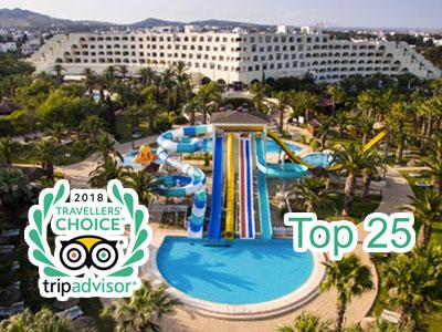 Un hôtel tunisien dans le top 25 meilleurs hôtels de famille au monde