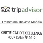 Trip Advisor récompense le groupe Thalassa Hotels