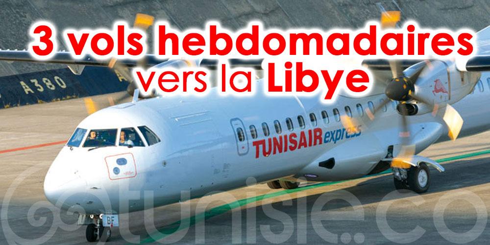 Tunisair Express programme 3 vols hebdomadaires vers la Libye