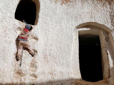 En photos : Ces dernières familles vivant dans les maisons  troglodytes au Sud de la Tunisie