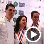 En vidéos : Les chefs Bilel Wechtati et Chiraz Triki à la conquête de la Toque d'or 2016