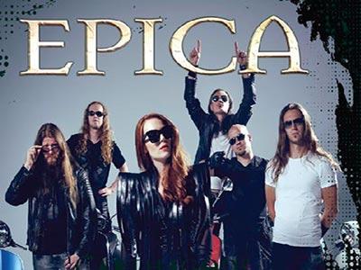 EPICA Rock on Tunisia au Festival de Bizerte le 15 août 2018