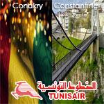 Tunisair reliera cet été Constantine et Conakry