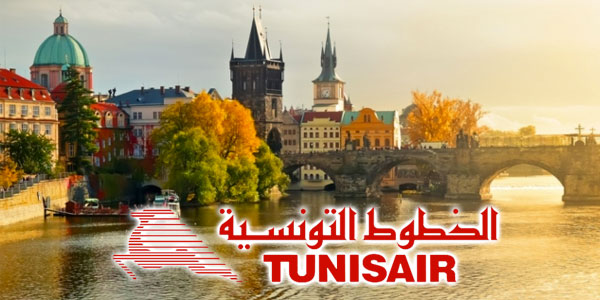 Tunisair réouvre la ligne de Prague à 349 TTC