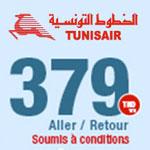 Nouvelle promo de Tunisair Eté 2016 à 379 Dt TTC