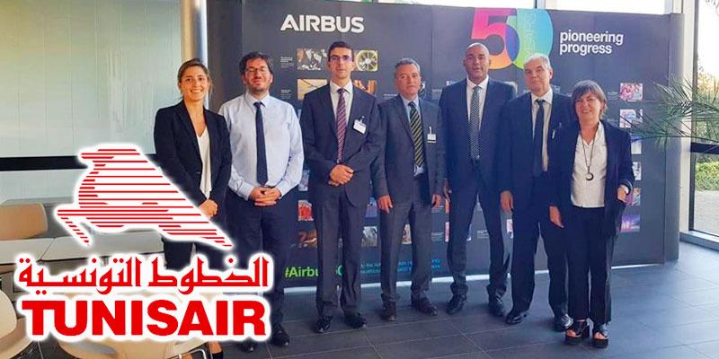 Tunisair finalise les négociations pour 5 nouveaux Airbus A320