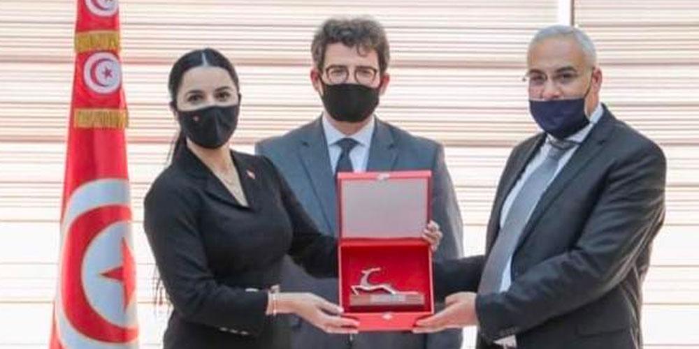 En photos : Cérémonie d'investiture de Olfa Hamdi à la tête de Tunisair