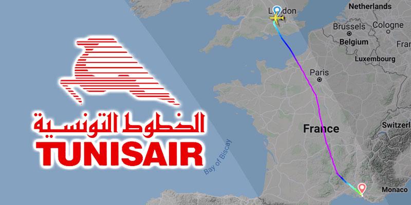 Atterrissage d'urgence d'un avion Tunisair par mesure de précaution