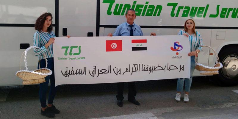 Accueil des premiers touristes irakiens et retour des vols directs de Baghdad