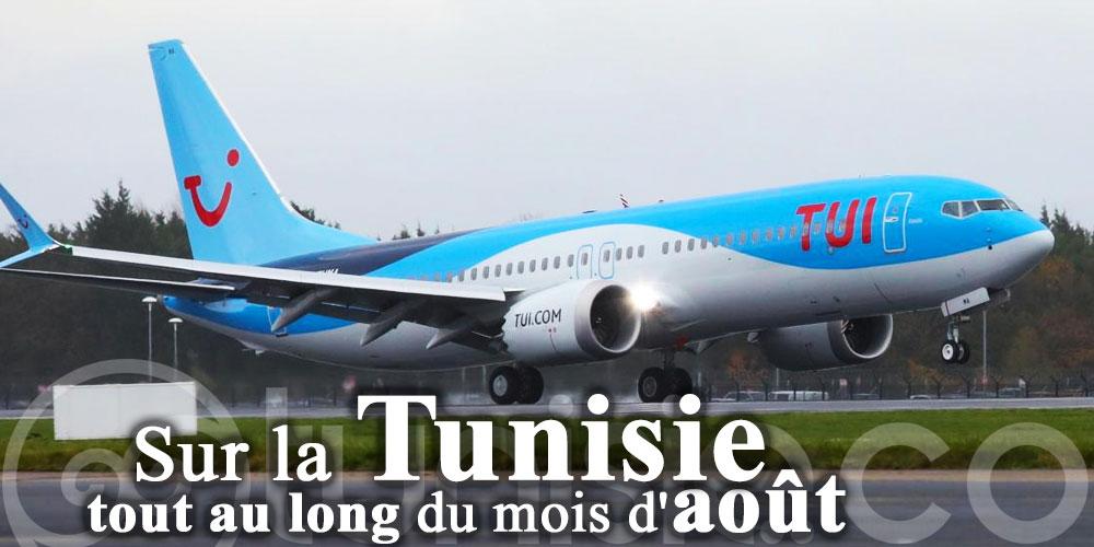 TUI reprend ses vols réguliers sur la Tunisie