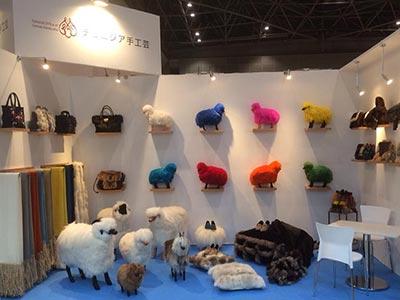 Les moutons colorés de Tuline à la conquête de Tokyo