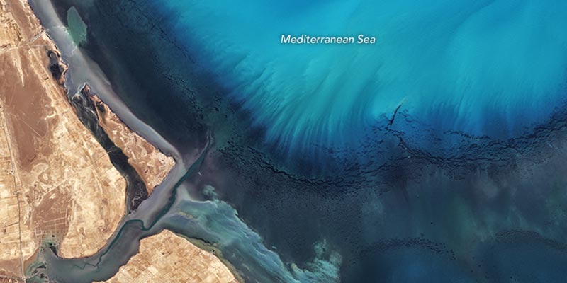 La beauté de la côte tunisienne capturée par la NASA !