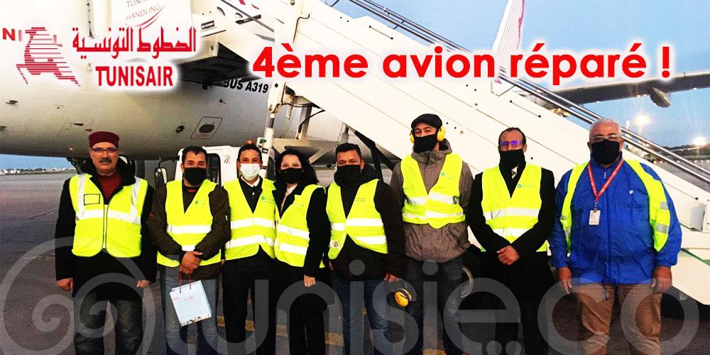 Olfa Hamdi : 4ème avion réparé en moins d'une semaine… Malgré tout