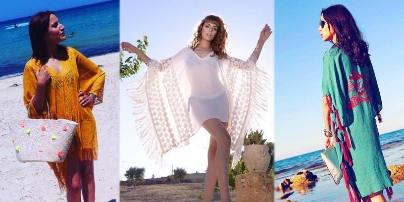 Cet été, optez pour des tuniques de plage aux inspirations artisanales tunisiennes