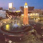Distances entre les villes tunisiennes :  depuis Tunis