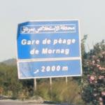 Itinéraires : Autoroute A1 : Tunis - M'saken