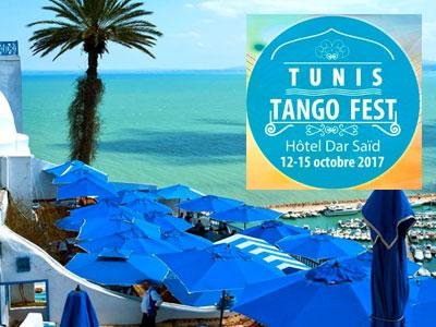 Tunis Tango Fest du 12 au 15 octobre à l'Hôtel Dar Saïd