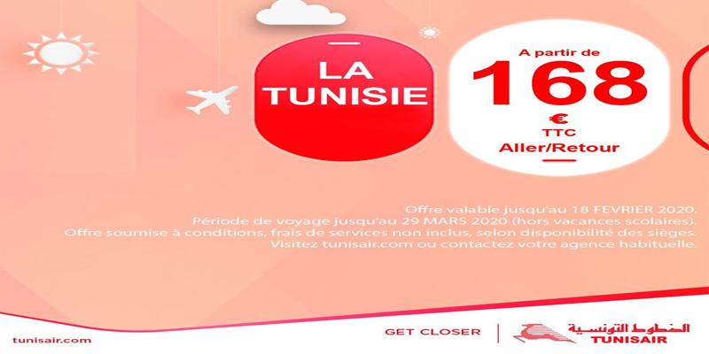 Envolez-vous en Italie dès 168 € en aller/retour avec Tunisair
