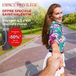 50% de réduction pour le 2ème billet en Business Class chez Tunisair pour la St Valentin