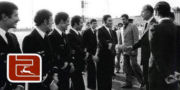 Photo d'histoire : Quand le Président Français prenait Tunisair pour ses voyages