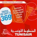 Découvrez la nouvelle offre 369 dt de Tunisair