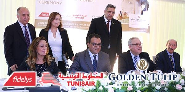 En vidéos : Les Hôtels Golden Tulip ouvrent leurs portes à Fidelys de Tunisair