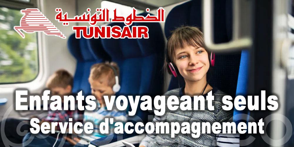 Tout sur le service d'accompagnement pour les enfants voyageant seuls avec Tunisair