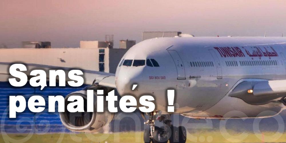 Tunisair: Vos billets sont modifiables sans pénalités