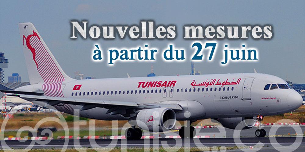 Service à bord réduit, Tunisair fixe ses nouvelles mesures sanitaires