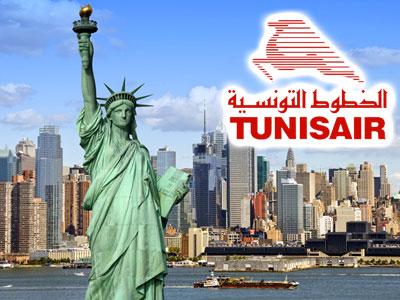 Tunisair annonce travailler sur un vol direct Tunis New York