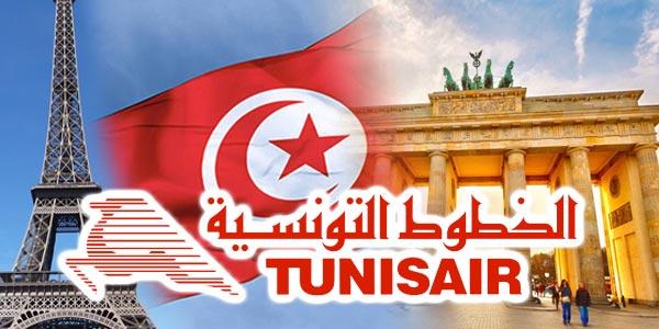 Tunisair prolonge son offre tarifaire pour les Tunisiens résidant à l´étranger