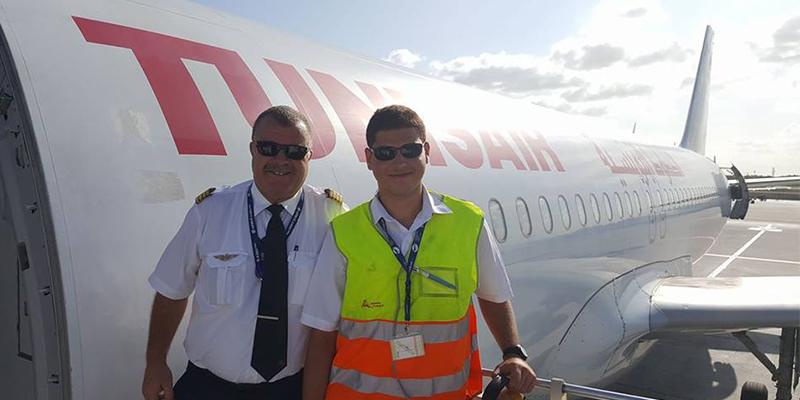 L'émouvant message d'un commandant de bord à Tunisair