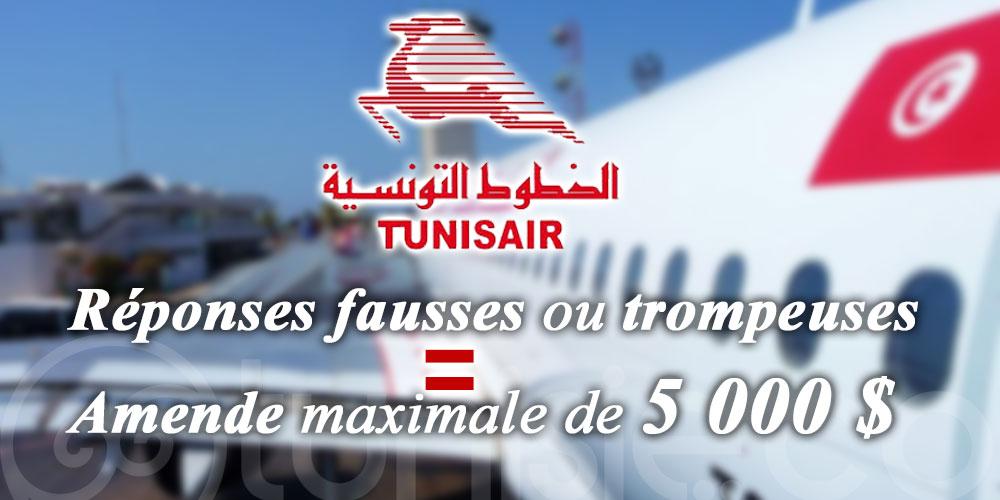 Tunisair: Avis aux passagers à destination de Montréal