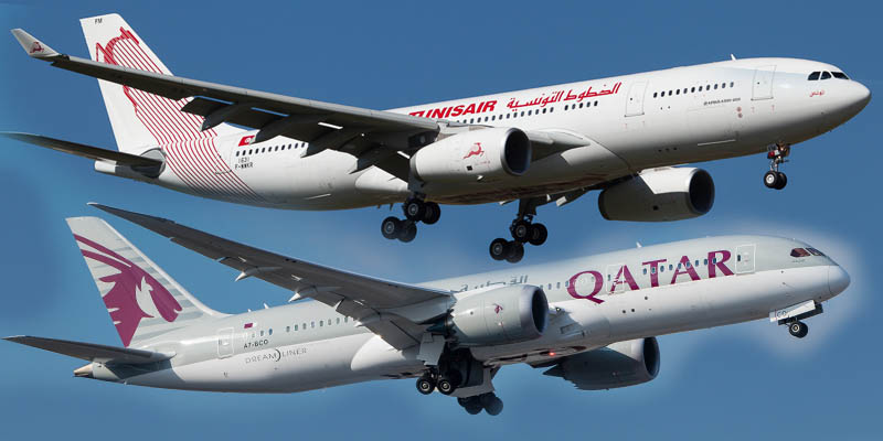 Qatar Airways ne sera pas actionnaire à Tunisair