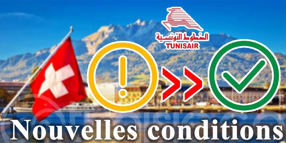 Attention les Suisses, Tunisair fixe de nouvelles conditions