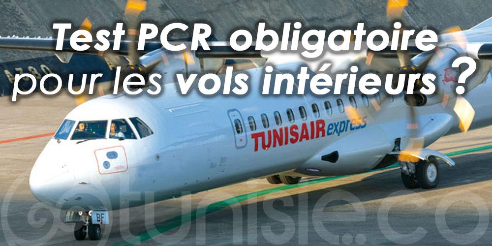 Le test PCR négatif est-il obligatoire pour les vols intérieurs en Tunisie ?
